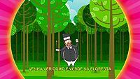 Bita e os Animais - Como é Verde na Floresta [clipe infantil].avi
