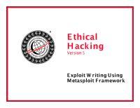 CEHv6 Module 32 Exploit Writing.pdf