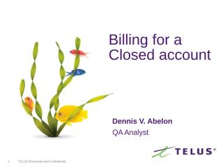 Billing for Close account flow.ppt