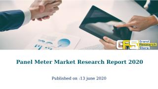 Panel Meter Market Research Report 2020.pptx