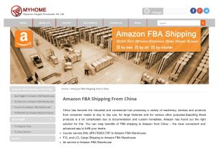 FBA Amazon One-stop shipping service from China.pdf