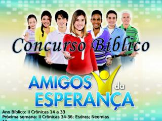 Concurso Bíblico 2011 - 20.ppt