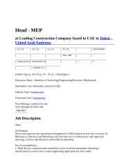 Head - MEP.docx