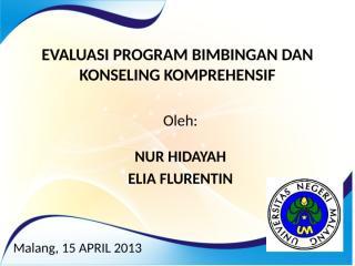 Evaluasi Program Bimbingan dan Konseling Komprehensif.pptx