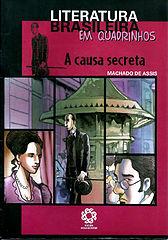 Literatura Brasileira em Quadrinhos - A Causa Secreta.cbr