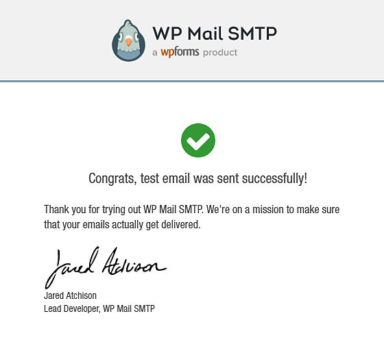 Undelivered WordPress email