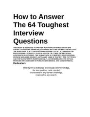 64InterviewQuestions.doc