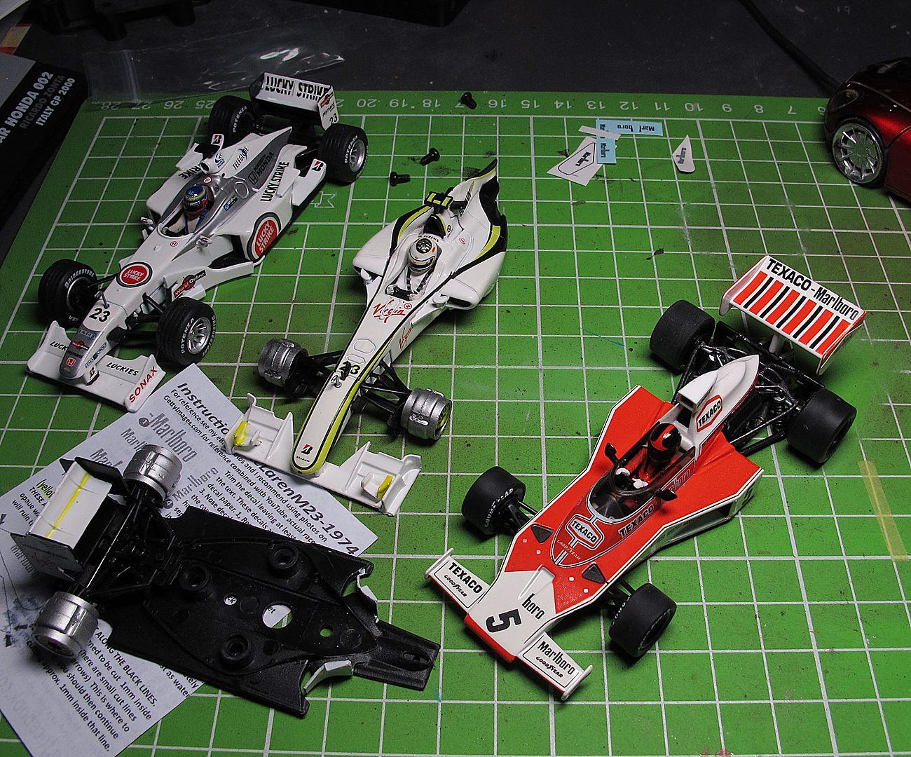 Formula 1 - доработки моделей