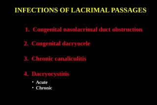 08Infection Lacrimal.ppt