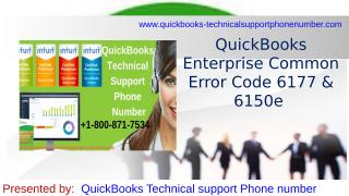 QuickBooks technical support phone number for your benefits.pptx