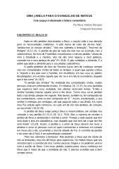 Uma Janela Para o Evangelho de Mateus [Encontro 17].pdf