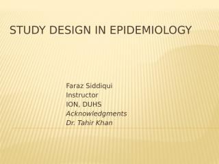Study design in epidemiology.pptx