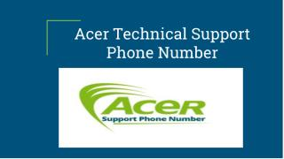 Acer Technical Support Phone Number.pdf