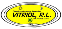 Logo Vitriol R l sello Oficial Tarjetas gif